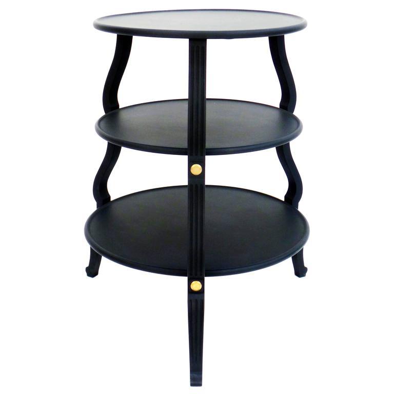 Circular Three Tier Table 1