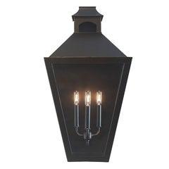 Classic Georgian Style Custom Produced Bronze Exterior Lantern