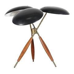 Gerald Thurston Tripod Table Lamp for Lightolier