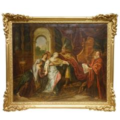 Scene from the Old Testament, French School, Early 18th Century