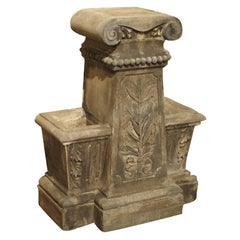 Unusual Reconstituted Stone Jardinière from France, circa 1880