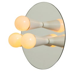 Echo 3 Sconce/Flush Mount in White, from Souda, Made to Order