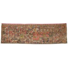 Antique Indian Wall Tapestry