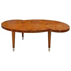 Tommi Parzinger Kidney Shape Coffee Table, 1954