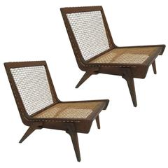 Pair of Yucatan Limited edition Lounge Chairs Designed by George Allen