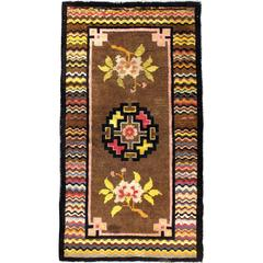 Antique Turkestan Khotan Style Rug
