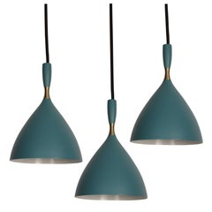 Birger Dahl Pendants in the Manner of Stilnovo