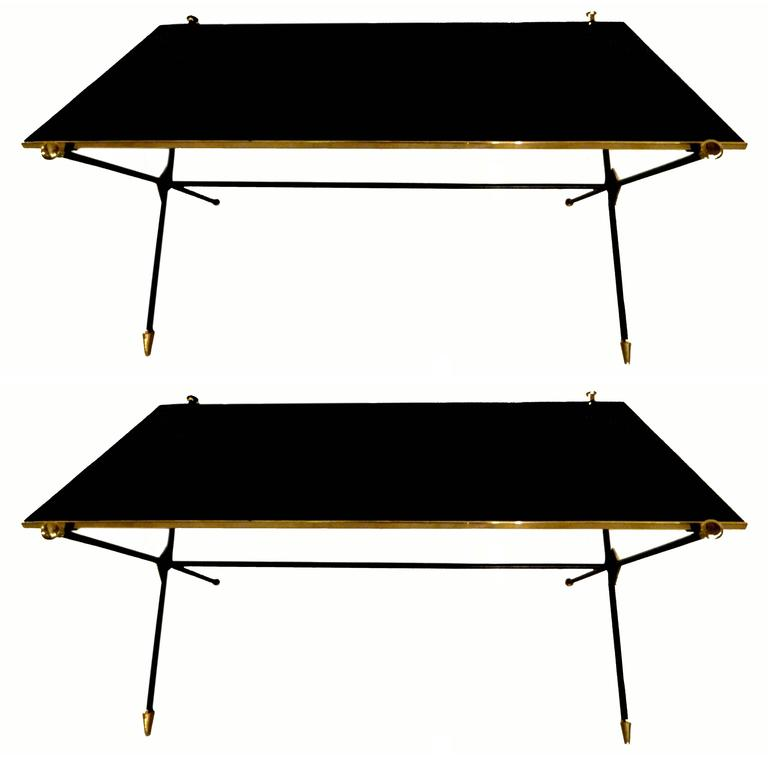 Pair of Maison Jansen Coffee Table For Sale