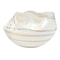 Opalescent Murano Glass Bowl