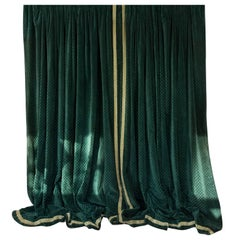 Elegant Large Pair of French Velvet Drapes