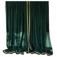Elegant Large Pair of French Velvet Drapes