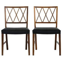 Set of Six Ole Wanscher Dining Chairs for A. J. Iversen