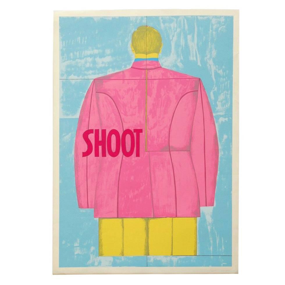 Richard Lindner 'Shoot' (back), 1971