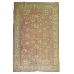 Angora Turkish Oushak rug