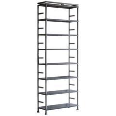 Custom Designed, Handmade Solid Steel Shelves Bookcase