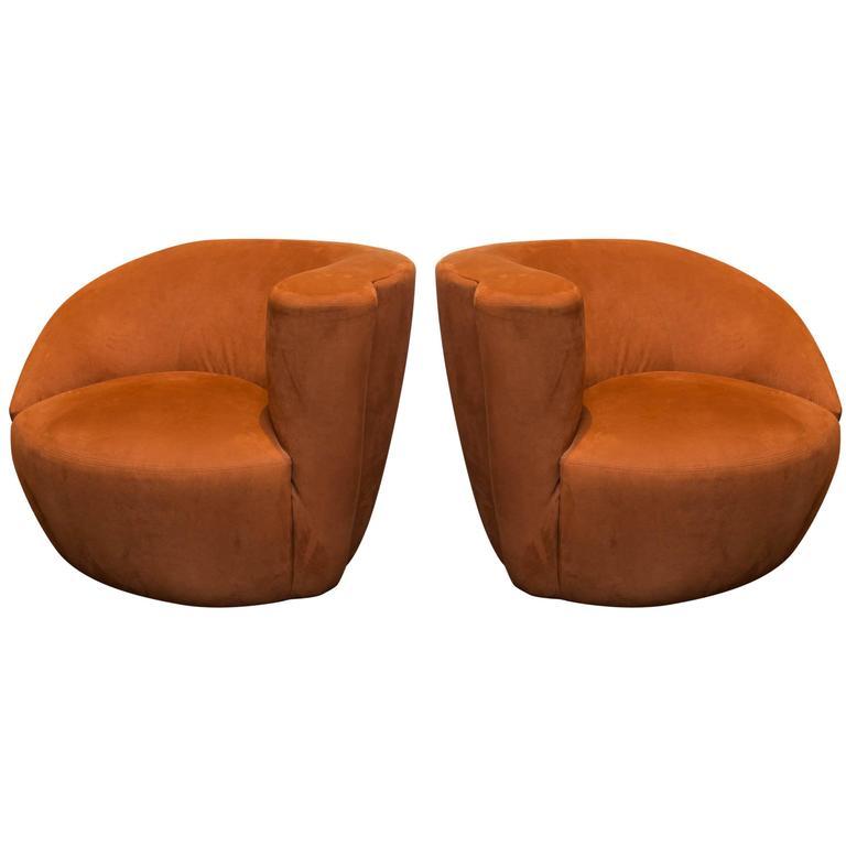 Set Of Vladimir Kagan Nautilus Chairs 1