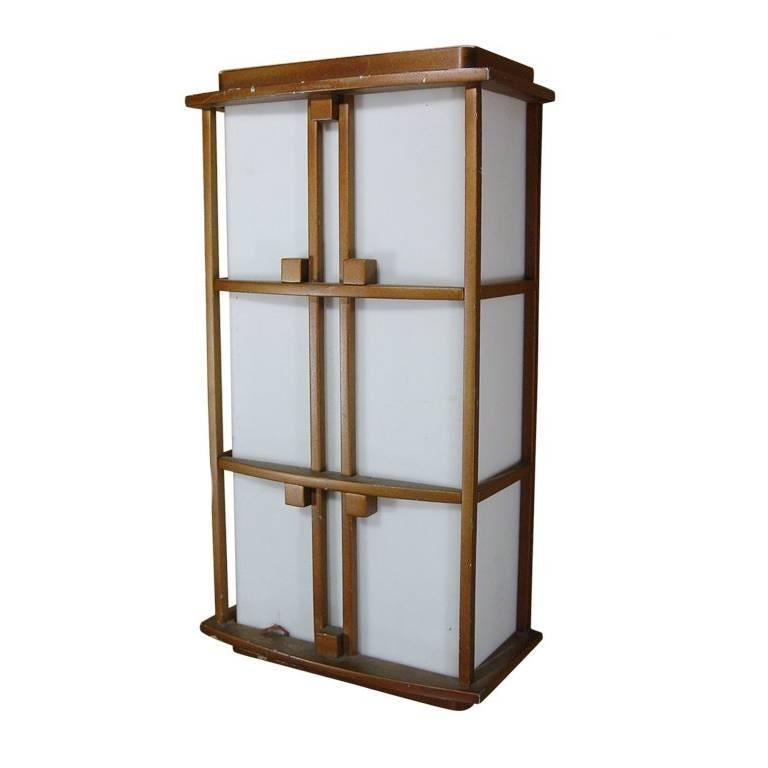 Japanese Wall Sconces: Japanese Inspired Wall Sconce For Sale At 1stdibs