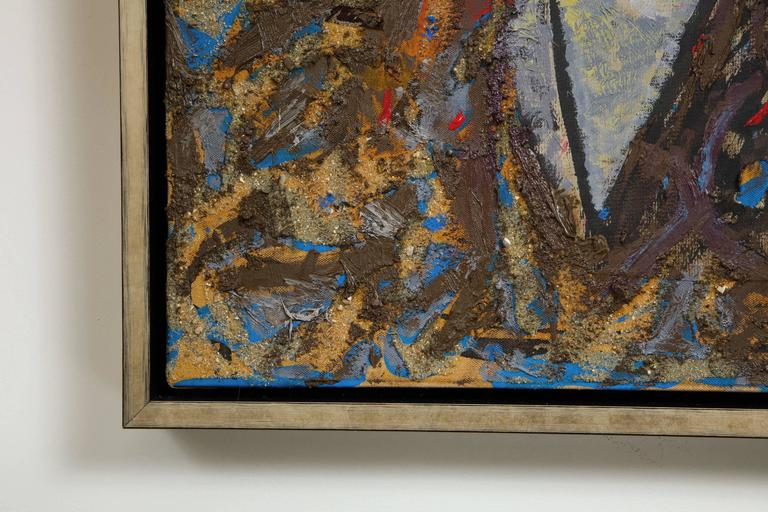 Richard Texier Abstract Oil Painting For Sale 3