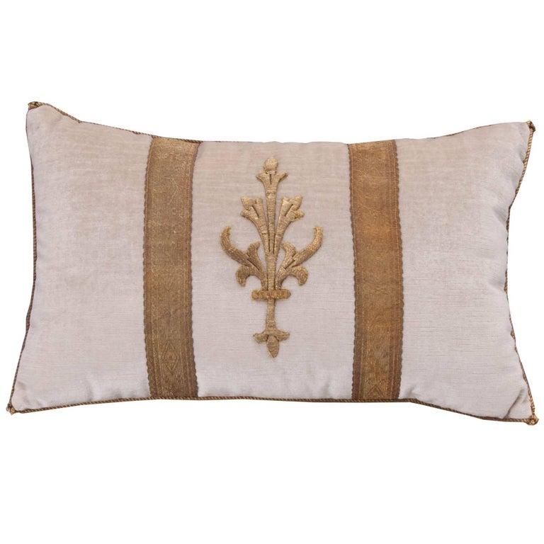 Antique Textile Pillow by B.Viz Designs
