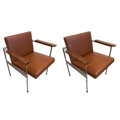 Pair of Paddle Armchairs by George Nelson for Herman Miller