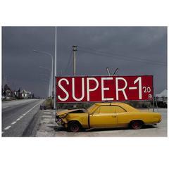 Belgique Photo Street Style N1 Malines-Anvers, Harry Gruyaert, 1988