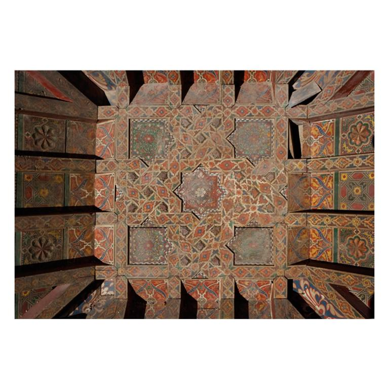 Three 19th Century Moroccan Ceilings For Sale
