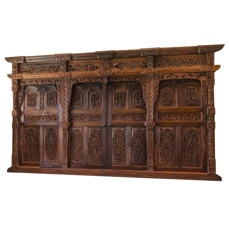 Kudus Wall or Jineman Door from Java
