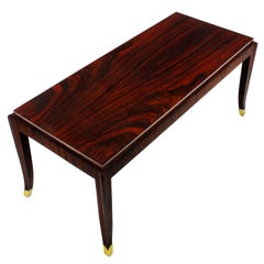 1940´s Coffee Table by De Coene Frères, mahogany, Rio rosewood - Belgium