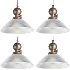 Industrial Brass Ceiling Pendant