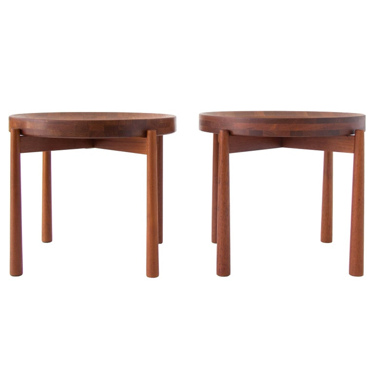 Pair of Teak Tray Tables in the style of Jens Quistgaard