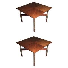 Rare Pair of Arne Vodder End Tables
