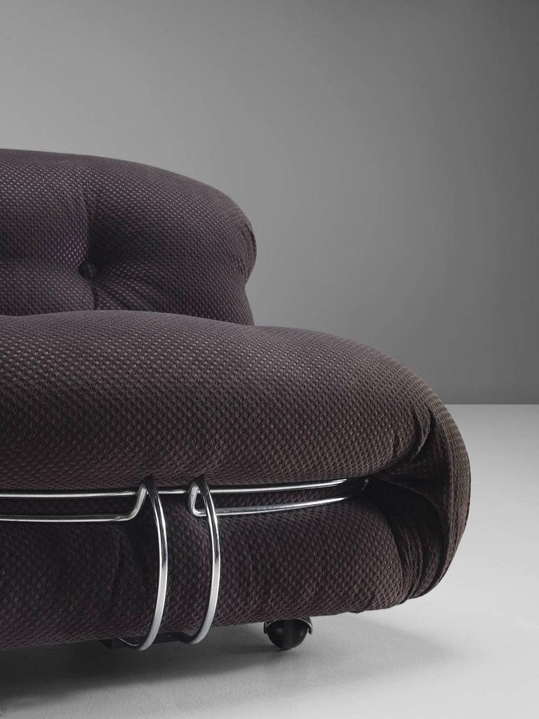 Mid-20th Century Afra & Tobia Scarpa 'Soriana' Lounge Chair