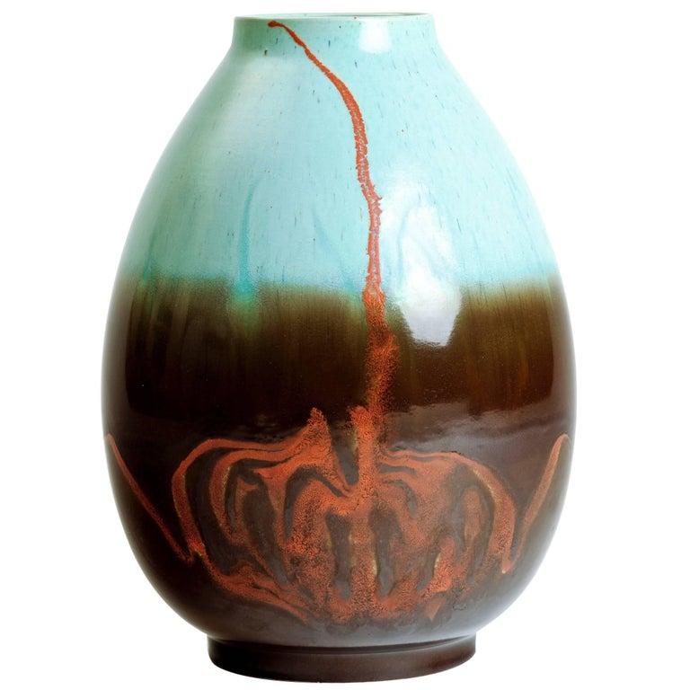 Alvino Bagni Italian Ceramic Vase For
