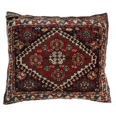Antique Southwest Persian Saddle Bag Pillow