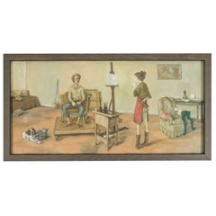 1969 Paintings by American Artist, Alexander Brook