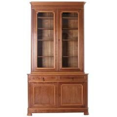 French Louis Philippe Style 19th Century Bibliotheque