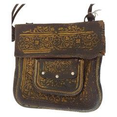 Leather Moroccan Berber Bag