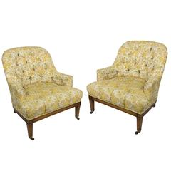 Pair of 1940s Tub Chairs