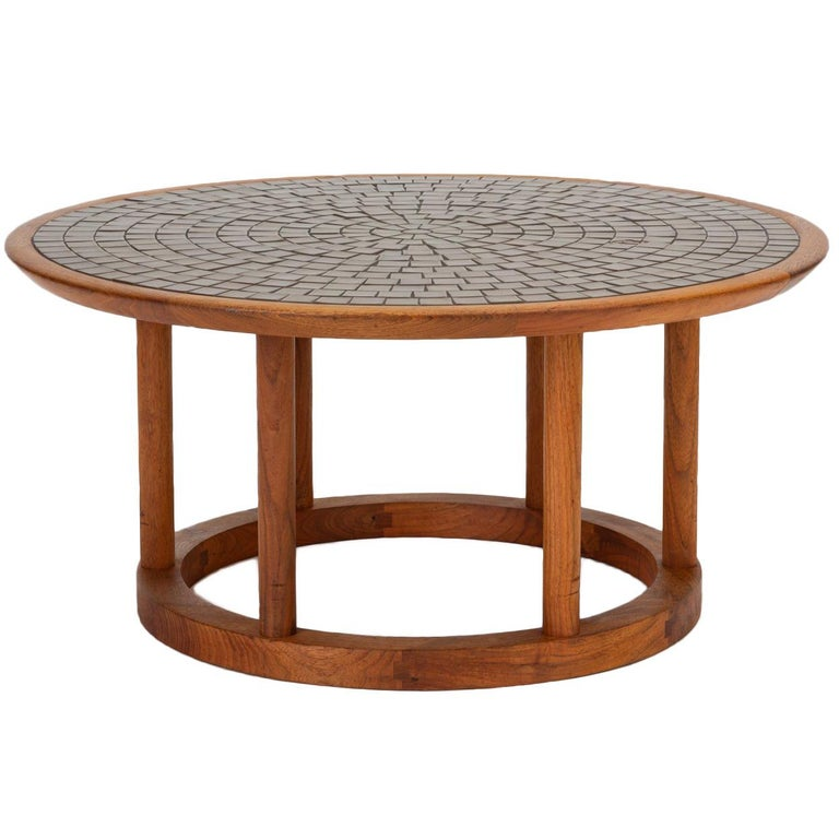 Gordon & Jane Martz Round Coffee or Occasional Table for Marshall Studios For Sale