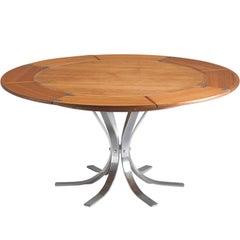 'Flip-Top' in Teak Table by Dyrlund