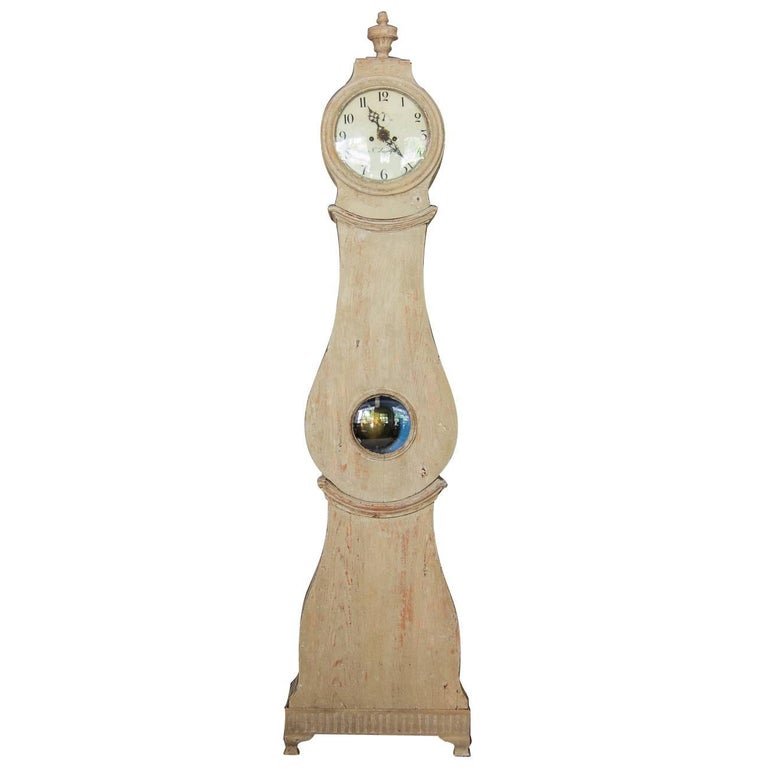 Swedish Tall Case Mora Clock, circa 1800