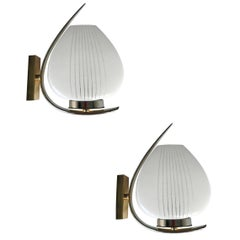 Pair of Maison Lunel Sconces
