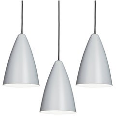Lisa Johansson-Pape '1959' Gray Pendant for Innolux Oy