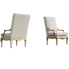 Danish Regency Style Armchairs from Early 1900s