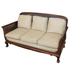 19th Century Anglo-Indian Mahogany Sofa