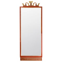 "Rare Axel Einar Hjorth Swedish Art Deco ""Abo"" Mirror from Nordiska Kompaniet"