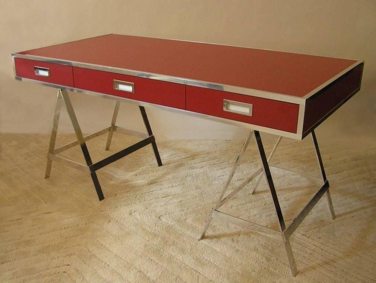 Albrizzi Trestle Desk New Larger Size For Sale 4