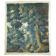 Verdure Tapestry on Linen