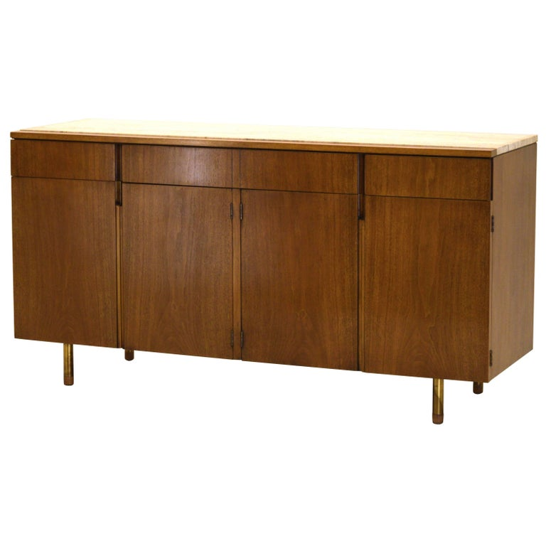 Fine Two-Part Cabinet by Bert England for Johnson Furniture Forward Trend For Sale at 1stdibs
