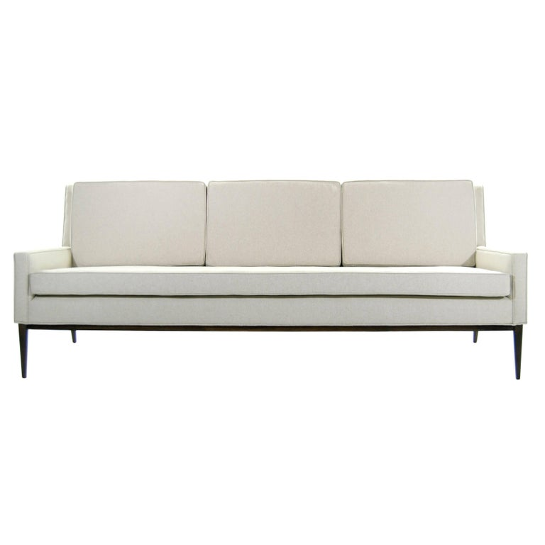 Sofa in Linen by Paul McCobb, Model #1307